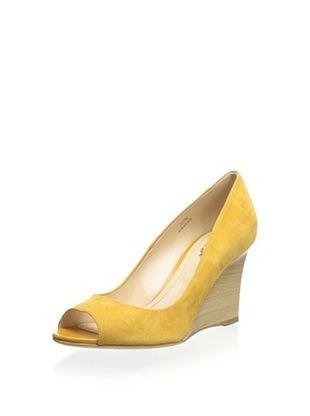 53% OFF Tod's Women's Peep-Toe Wedge (Arancio)