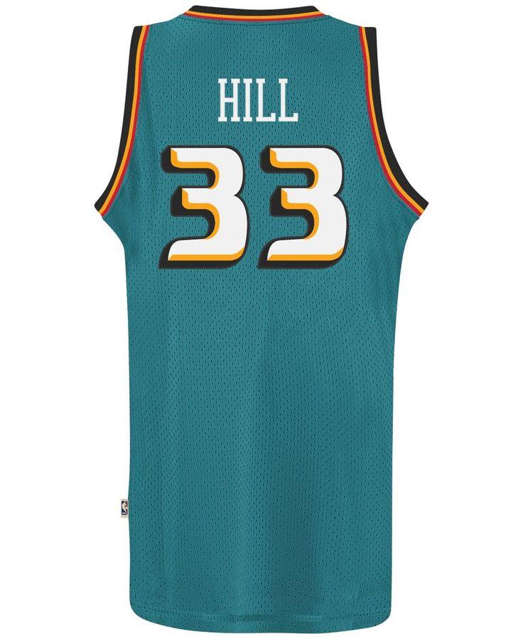 6f866f2d1 ... adidas Mens Grant Hill Detroit Pistons Retired Player Swingman Jersey  Champion NBA ...