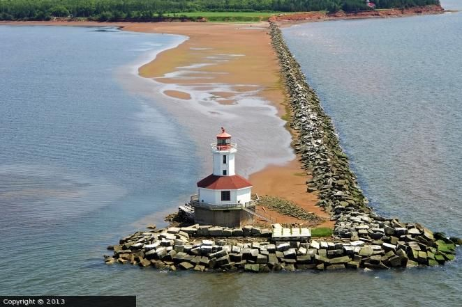Indian Head lighthouse [1930 - Summerside, Prince Edward Island, Canada]