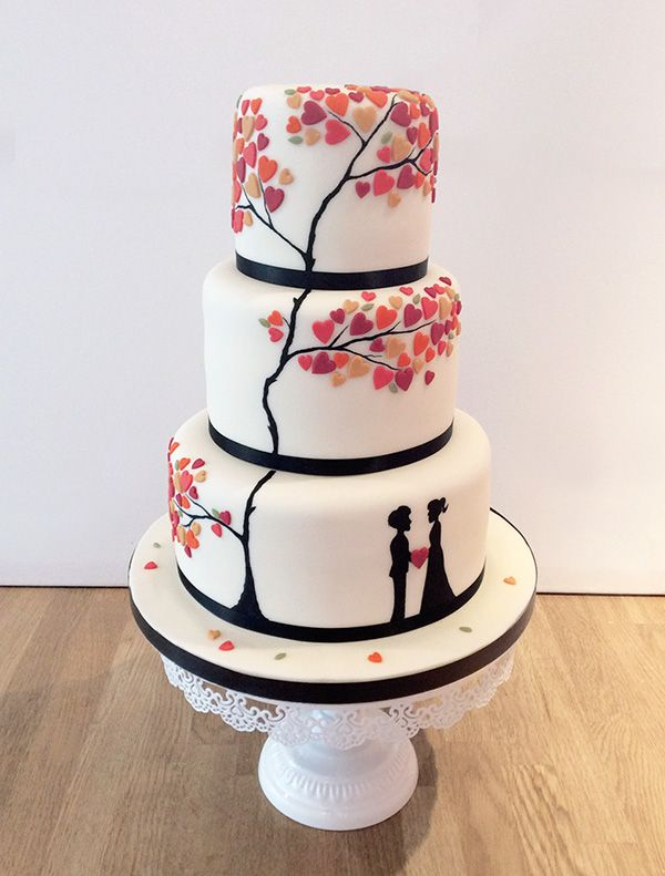 traditional fruit wedding cake icing 25 best ideas about tree themed wedding on 21137