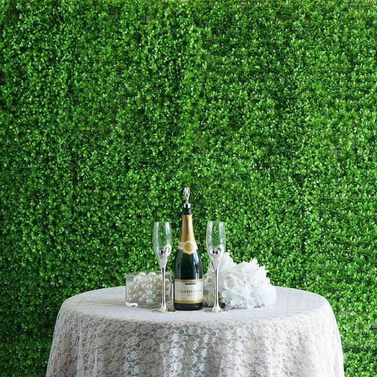 11 sq ft 4 panels artificial lime green boxwood hedge on interior using artificial boxwood panels with flowers id=65343