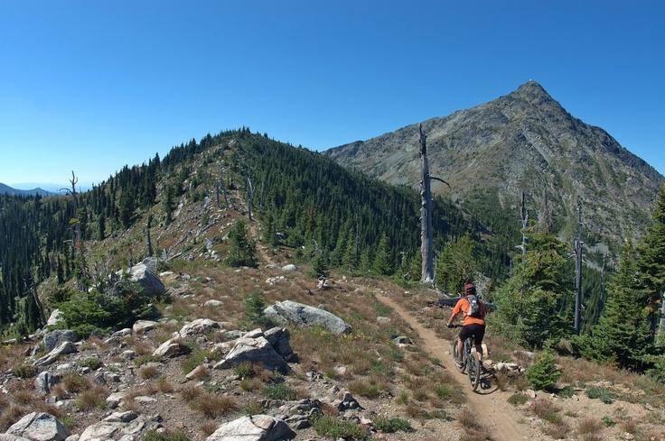 Rossland's epic Seven Summit Trail Photo by Sara Rainford.