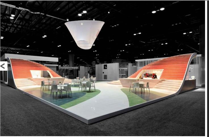 Exhibition Stands In Orlando : Tile exhibition winner amazing architecture exhibits