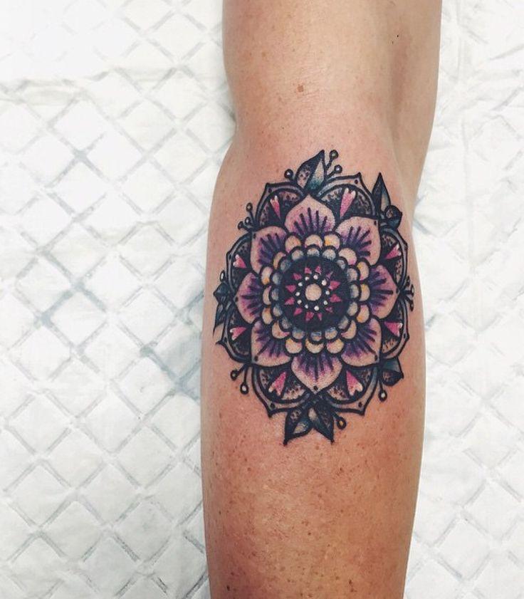 Mandala tattoo by Lauren Winzer #ink #mandala #laurenwinzer