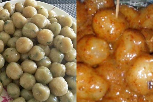 Cara Membuat Cilok Bumbu Kacang Resep Masakan Resep Makanan Pedas