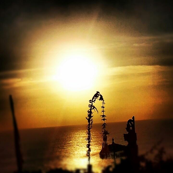 Sunset, Bali