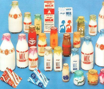 明治乳業の乳飲料製品一覧(昭和42年頃)