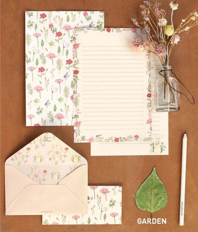Iconic Pattern Letter Set / Garden