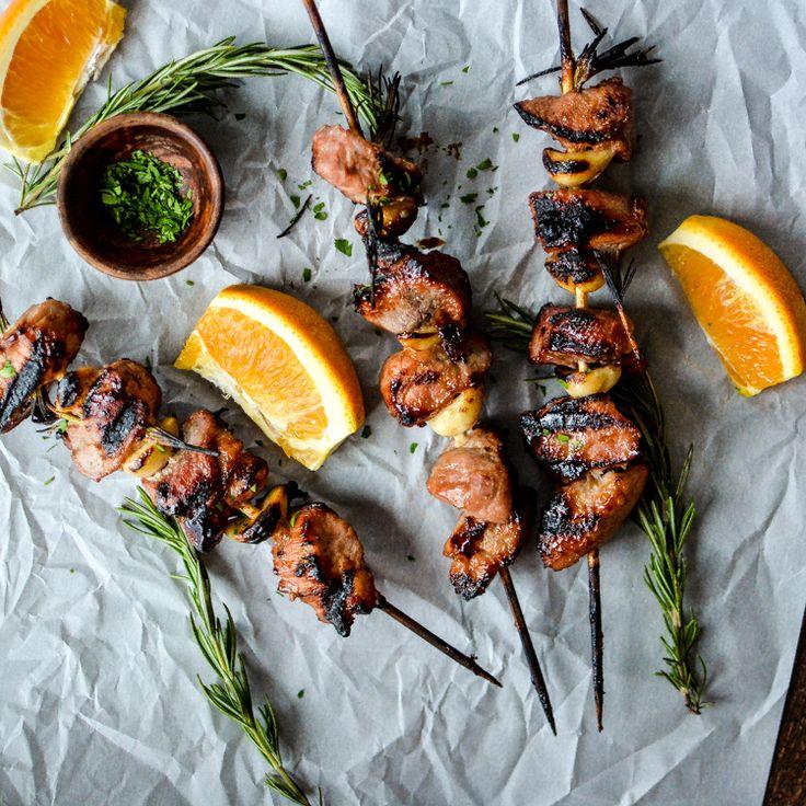 Pork tenderloin shish kabob recipe