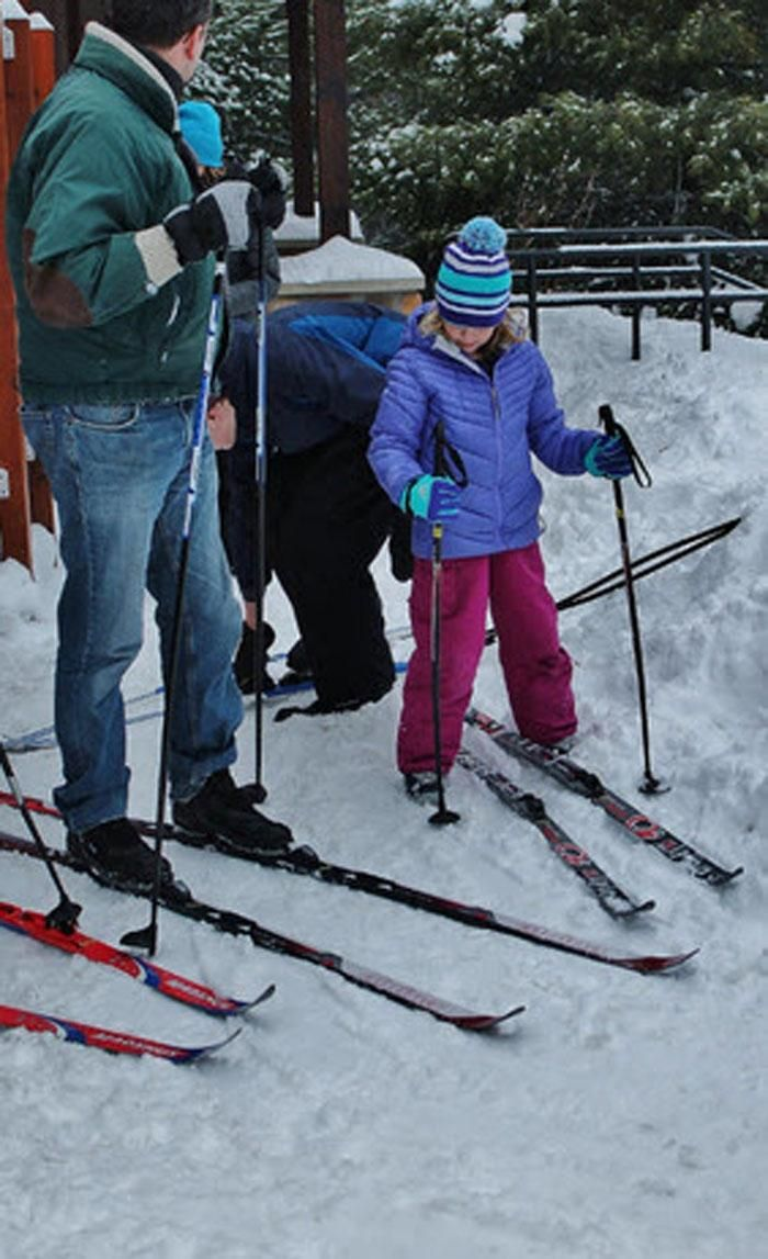 The Pigeon Creek Lodge is open for winter fun, that is, if snow conditions are right.Park personnel opened the lodge the middle of December, and will be