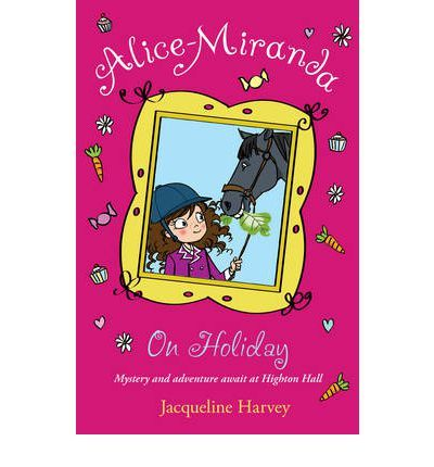7. This is the second book in the Alice Miranda series they are all about this young girl who goes to boarding school and speakes her mind all the time in this one. Aunty Gee to Alice Miranda and to other people the Queen gets kidnapped.!!!