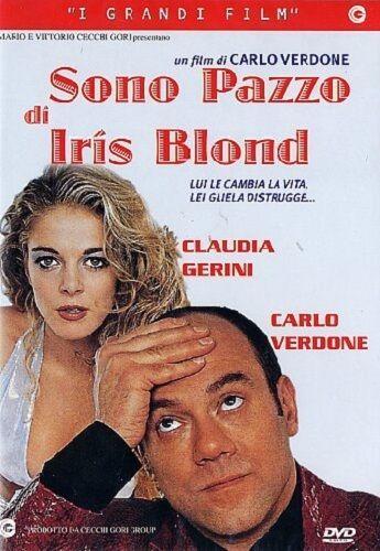 Sono pazzo di Iris Blond (1996) DVD  COMMEDIA  (Carlo Verdone Claudia Gerini)
