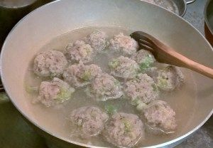 Chicken #meatballs - #asianfood #happynewyear2016