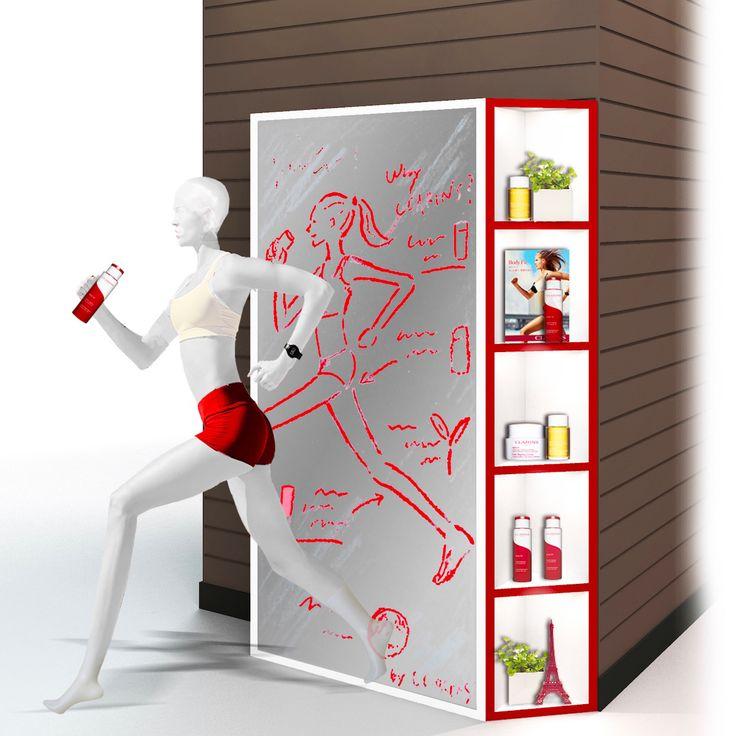 クラランスのボディスリミングアイテムが伊勢丹新宿店で先行発売