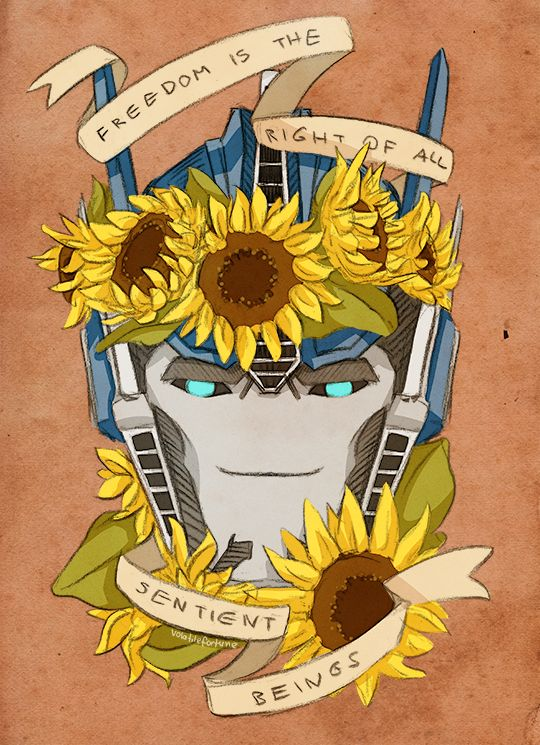 I saw this: napalmnacey.deviantart.com/art… And thought about how fun it would be to do it with Optimus. Enjoy 25 adorable Primes~ Optimus Prime belongs to (c) Hasbro Meme belongs to (c...