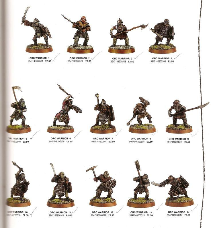 Book-faithful Uruk-hai and half-orc miniatures? - Page5