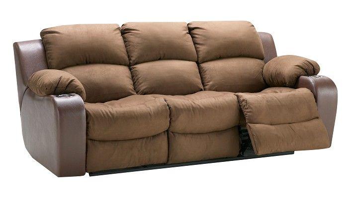 Slumberland Furniture Grand Collection Chocolate Sofa