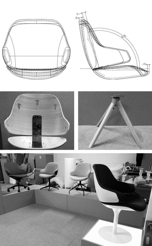 Ciel Armchair by Noé Duchaufour Lawrance for Tabisso 6 Sleek Armchair Design Made in France: Ciel! by Noé Duchaufour Lawrance