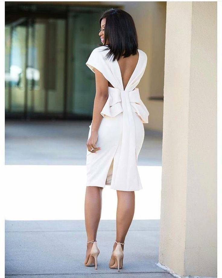 Chic rehearsal dinner dress. Where would you wear this dress to? #munafashion / #Repost @stylemeafrica  |Make that walk count| Back details via @jadorefashion  #StyleMeAfrica