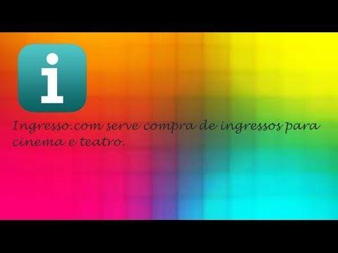 Ingresso.com - Aplicativo de Cinema Para o IOS ♡ ♥