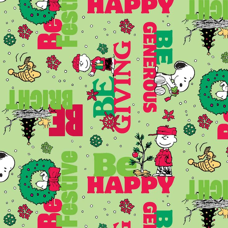 Holiday Inspirations Peanuts Be Festive Cotton