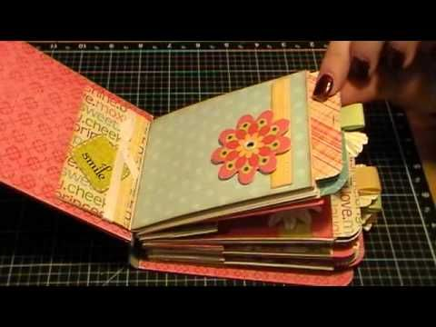 This Paper Bag Mini Album is fabulous! It's quick, easy, fun and inexpensive. It's really unique and leaves you tons of room for personalizing.