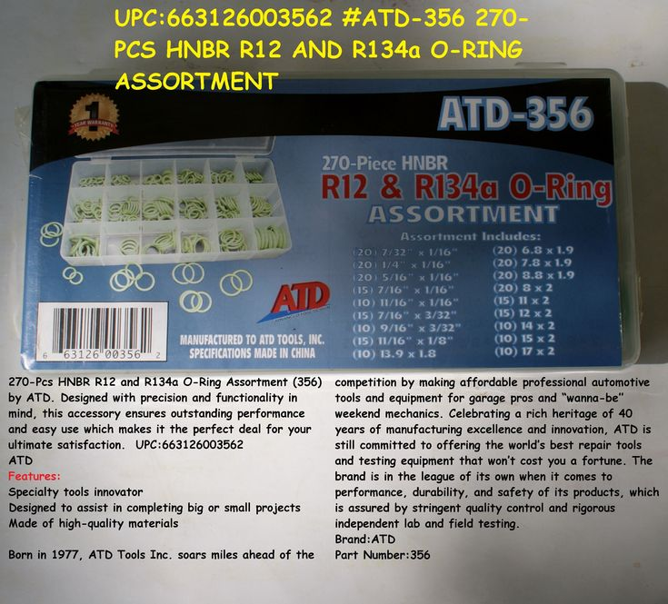 Atd tools atd357 110 pc hydraulic fitting assortment