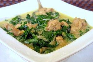 Курица в сливочном соусе со шпинатом - Рецепты. Кулинарные рецепты блюд с фото - рецепты салатов, первые и вторые блюда, рецепты выпечки, десерты и закуски - IVONA - bigmir)net - IVONA bigmir)net