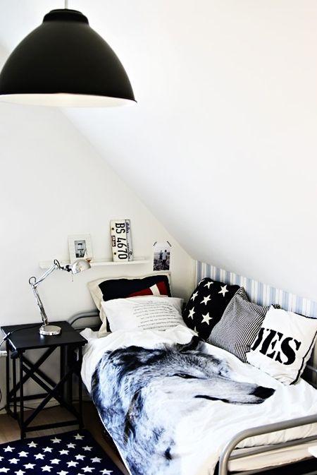 Scandinavian Boy's Bedroom