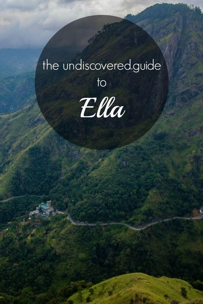 The ultimate guide to Ella, Sri Lanka