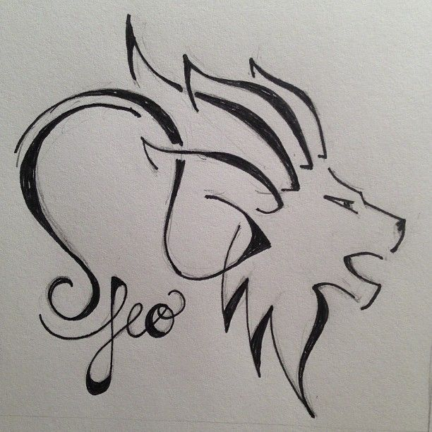 best leo tattoo designs | Leo Zodiac Sign Tattoo Designs