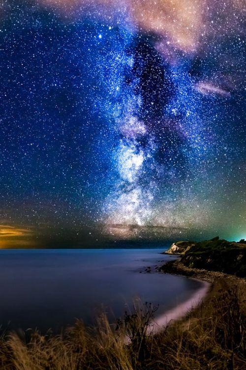 Milky Way, Isle of Wight, England
