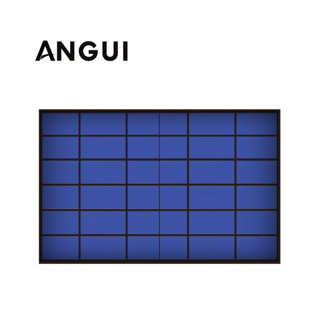6v 1670ma 10watt 10w Solar Panel Standard Epoxy Polycrystalline Silicon Diy Battery Power Charge Module Mini Solar Cell To Solar Energy Solar Cell Solar Panels