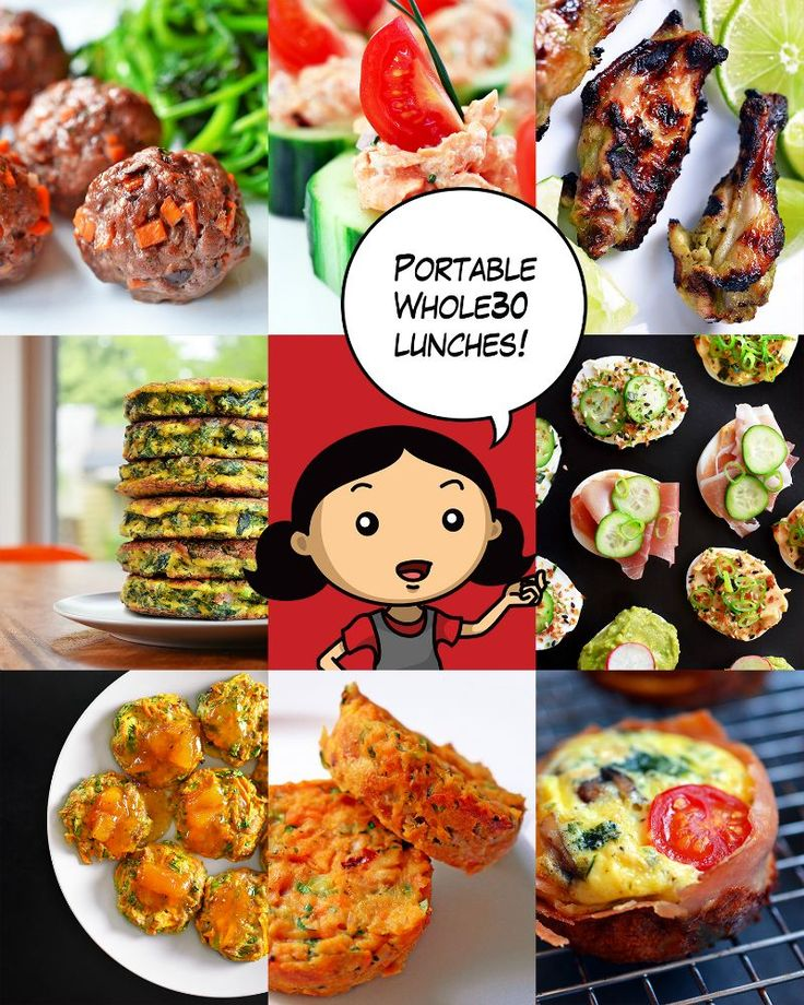 Portable Whole30 Lunches by Michelle Tam https://nomnompaleo.com
