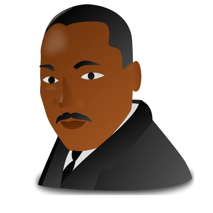 Clip Art Martin Luther King Jr Clipart 1000 images about mlk on pinterest the martin activities and luther king jr day icon clipart