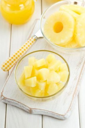 Ananas-mango smoothie met citroengras
