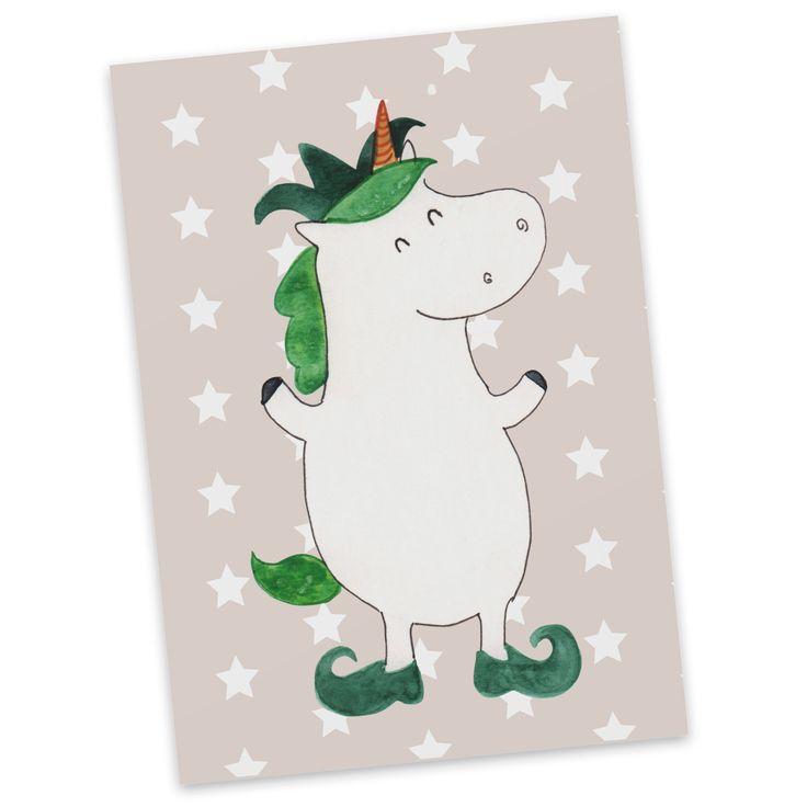 Postkarte Einhorn Joker aus Karton 300 Gramm  weiß - Das Original von Mr. & Mrs. Panda.  Jedes wunderschöne Motiv auf unseren Postkarten aus dem Hause Mr. & Mrs. Panda wird mit viel Liebe von Mrs. Panda handgezeichnet und entworfen.  Unsere Postkarten werden mit sehr hochwertigen Tinten gedruckt und sind 40 Jahre UV-Lichtbeständig. Deine Postkarte wird sicher verpackt per Post geliefert.    Über unser Motiv Einhorn Joker  Ein Einhorn Edition ist eine ganz besonders liebevolle und…