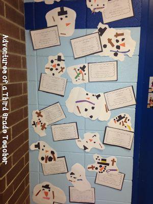 Adventures of a Third Grade Teacher: Melting Snowman & Haiku Poetry