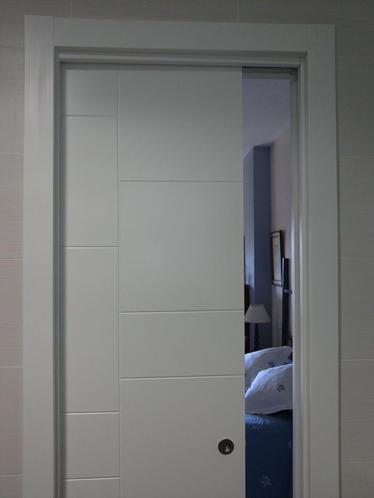 126 best images about puertas lacadas en blanco on pinterest - Puertas de paso lacadas en blanco ...