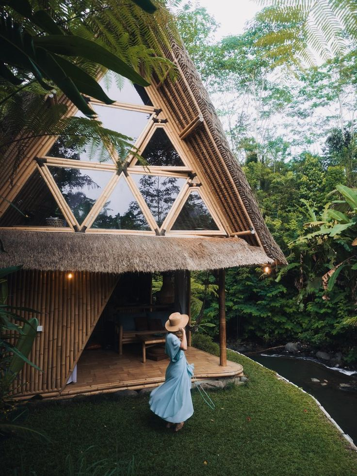 Jungle homes in Bali <3