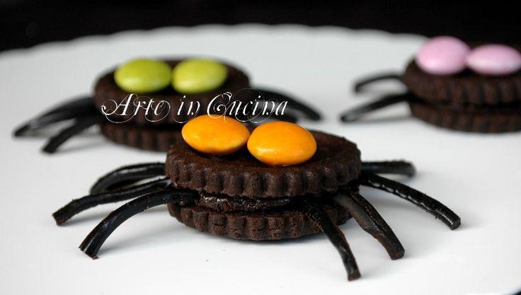 Dolci di halloween ragni veloci | Arte in Cucina