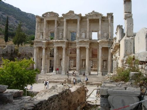 Ephesus Library, Ancient Greece