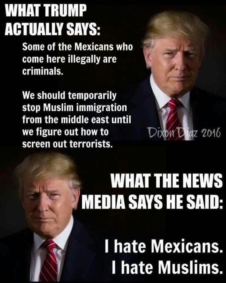 """""""EXACTLY"""".......BUT WE THE PEOPLE SAW THRU THE BULLSHIT OF THE CROOKED MEDIA...THEIR ALL DIE-HARD LIBERALS AND ALWAYS WILL BE...GET IT NOW PEOPLE?....YOU SHOULD BY NOW...I DON'T LISTEN TO ABC,CBS,NBC,CNN,MSNBC AND OTHERS...THEIR ALL FULL OF IT...DON'T LISTEN TO THEM PEOPLE.....NEVER!"""