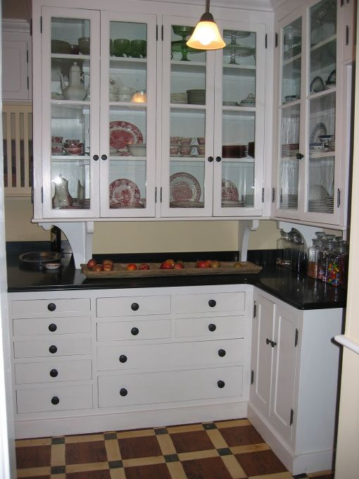 Kitchen Table Design Decorating Ideas Hgtv Pictures: Early 1900's Kitchen - Kitchen