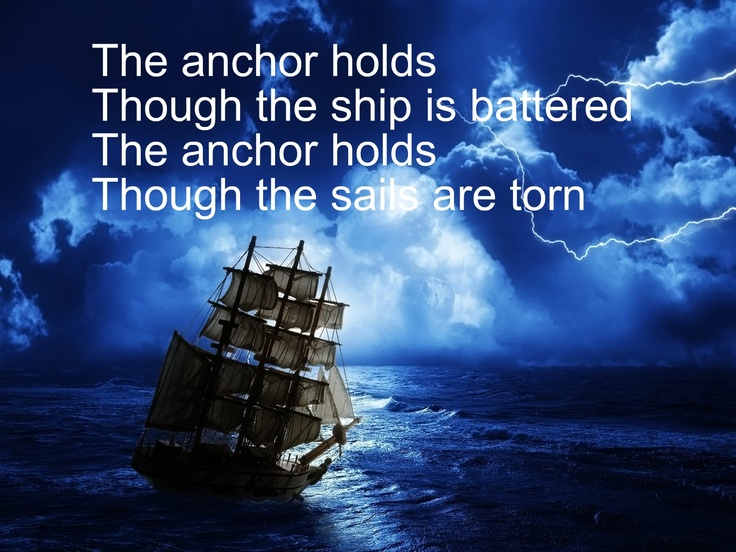 the anchor holds song
