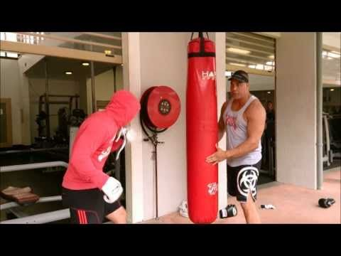 Matty Ross and The Bar Room Brawl Boxing Workout