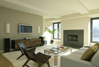 Modern Living Room By Bjorg Magnea Paint Sherwin Williams