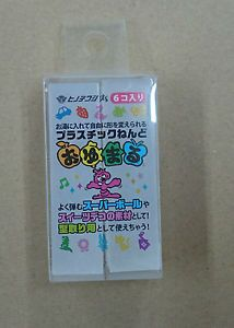 Oyumaru-Reusable-clay-mold-making-material-6pc-SET-Clear-transparent