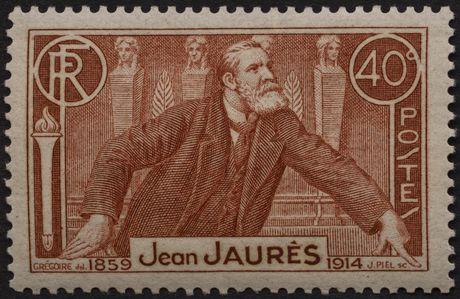 Timbre Jean Jaurès (1936)