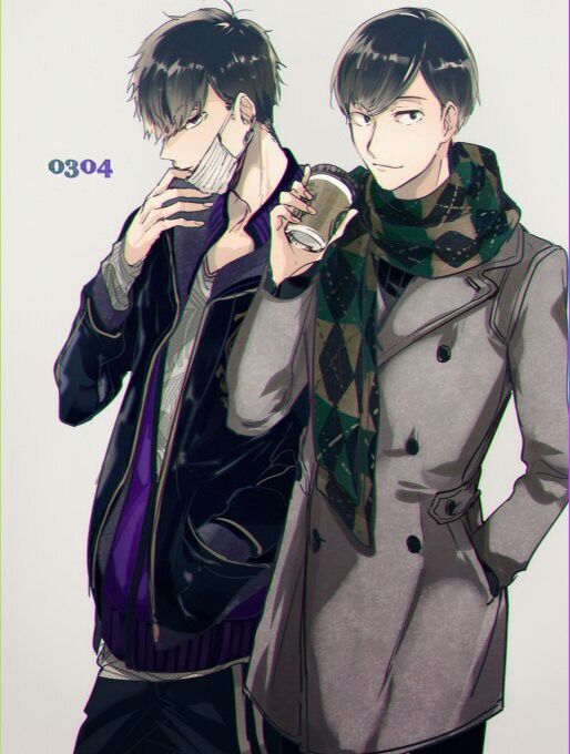 Osomatsu-san- Choromatsu, Ichimatsu #Anime「♡」